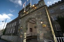 The Bedford Hotel has pride of place in the heart of Tavistock.